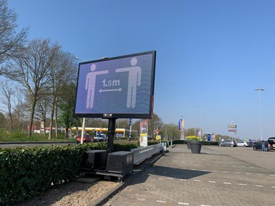 LED Narrowcasting Woonboulevard Heerlen