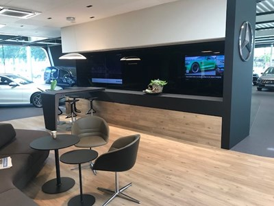 Narrowcasting Smeets Mercedes Venlo by FOXX AV